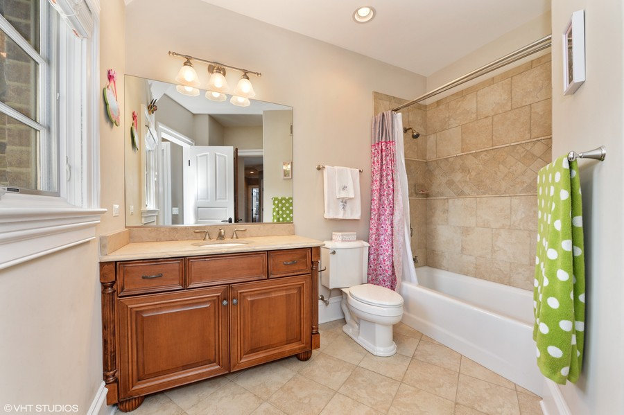 Real Estate Photography - 1754 Chicago Ave, Downers Grove, IL, 60515 - Bedroom 3 Bath