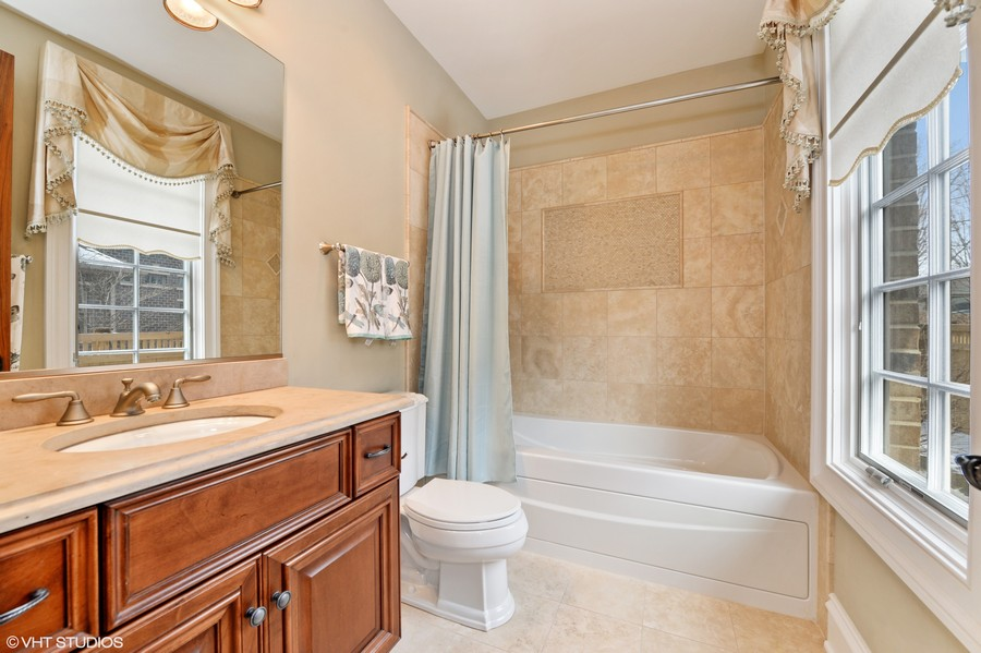 Real Estate Photography - 1754 Chicago Ave, Downers Grove, IL, 60515 - Bedroom 5 Bath