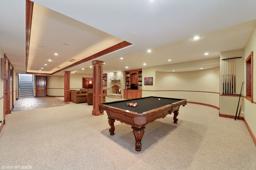 Real Estate Photography - 1754 Chicago Ave, Downers Grove, IL, 60515 - Recreation Room
