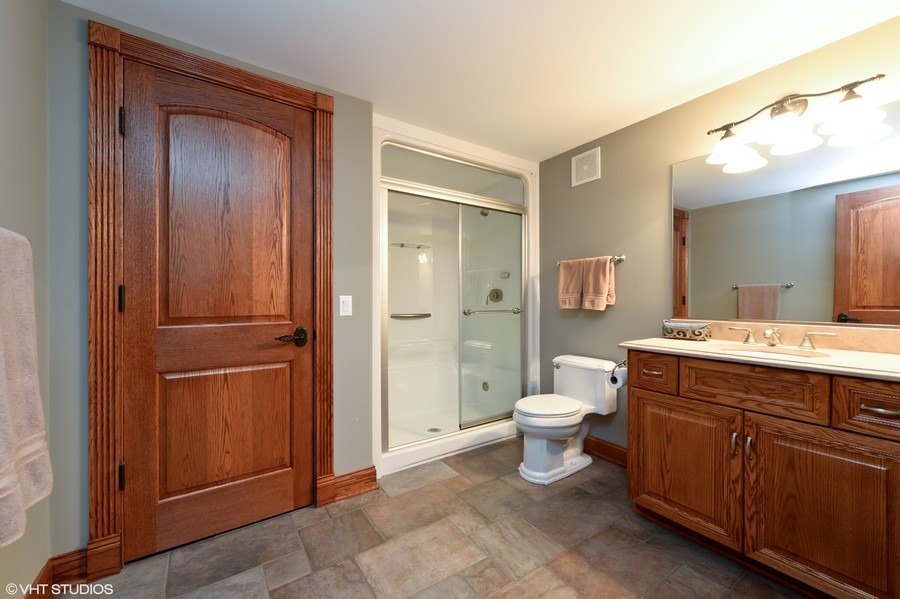 Real Estate Photography - 1754 Chicago Ave, Downers Grove, IL, 60515 - Lower Level Bath