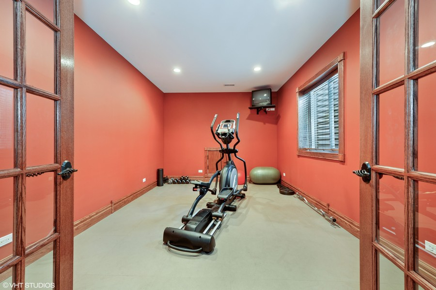 Real Estate Photography - 1754 Chicago Ave, Downers Grove, IL, 60515 - Fitness Room