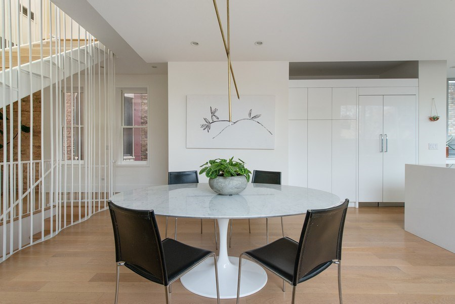 Real Estate Photography - 918 W Webster, CHICAGO, IL, 60622 - Dining Room