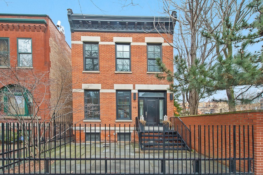 Real Estate Photography - 918 W Webster, CHICAGO, IL, 60622 - Front View