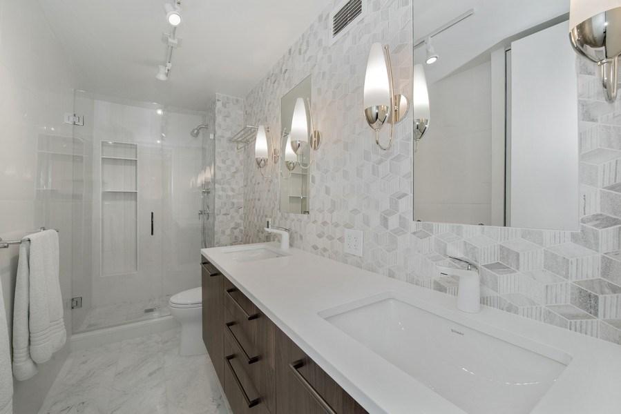 Real Estate Photography - 200 E Delaware Pl, 12D, Chicago, IL, 60611 - Master Bathroom