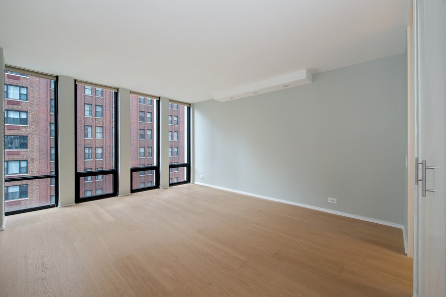 Real Estate Photography - 200 E Delaware Pl, 12D, Chicago, IL, 60611 - Master Bedroom