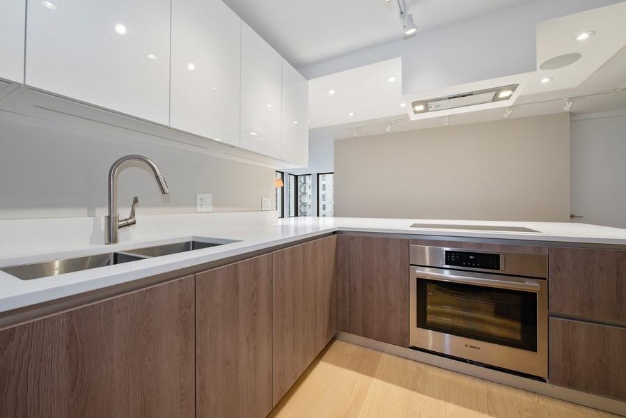 Real Estate Photography - 200 E Delaware Pl, 12D, Chicago, IL, 60611 - Kitchen