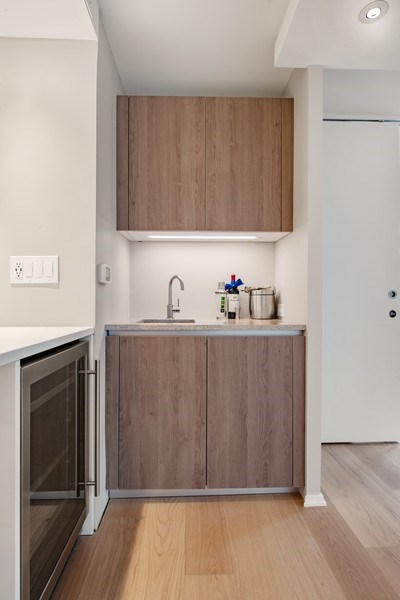 Real Estate Photography - 200 E Delaware Pl, 12D, Chicago, IL, 60611 - Bar