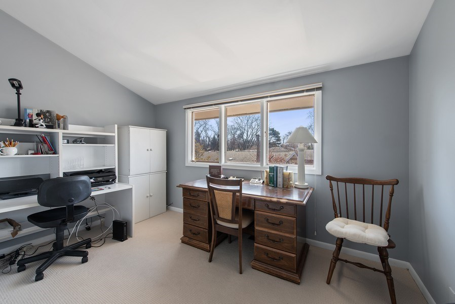 Real Estate Photography - 525 Kin Ct, Wilmette, IL, 60091 - 3rd Bedroom