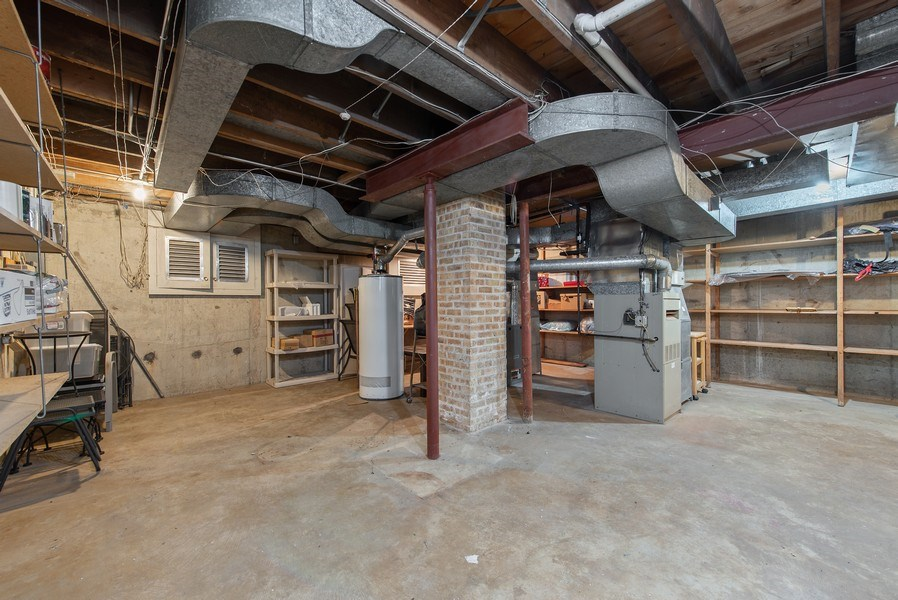 Real Estate Photography - 525 Kin Ct, Wilmette, IL, 60091 - Lower Level
