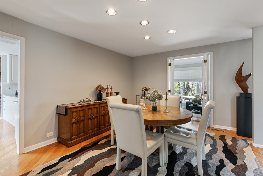 Real Estate Photography - 525 Kin Ct, Wilmette, IL, 60091 - Dining Room