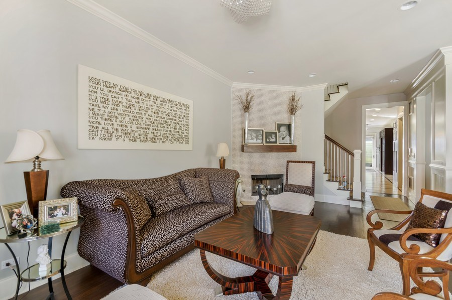 Real Estate Photography - 3133 N Hoyne Avenue, Chicago, IL, 60618 - Living Room