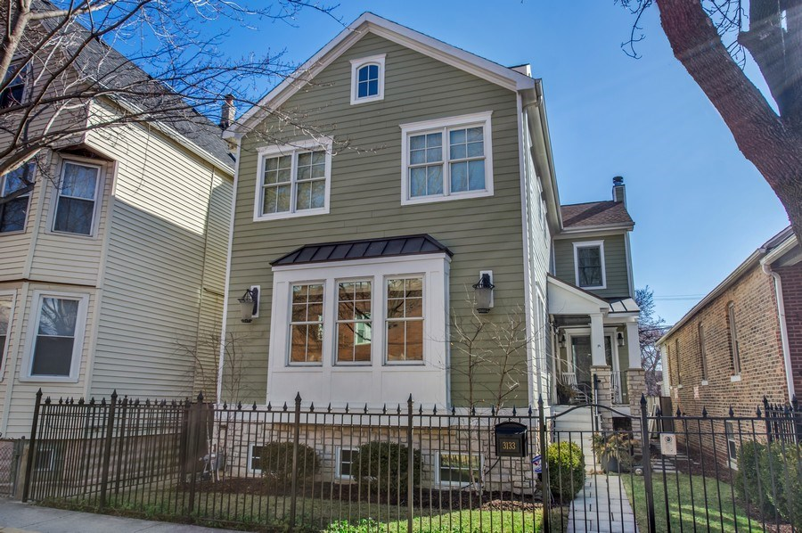 Real Estate Photography - 3133 N Hoyne Avenue, Chicago, IL, 60618 - Front View
