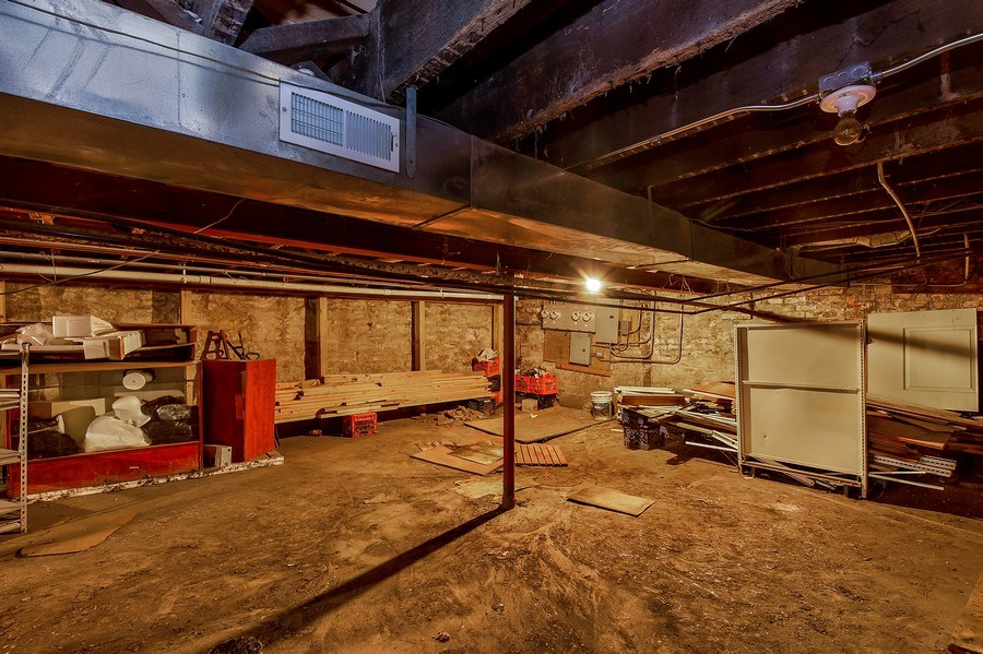Real Estate Photography - 1435 N Sedgwick, Chicago, IL, 60610 - Basement