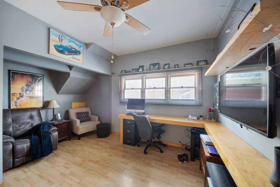 Real Estate Photography - 6952 W Wellington Ave, Chicago, IL, 60634 - 2nd Bedroom