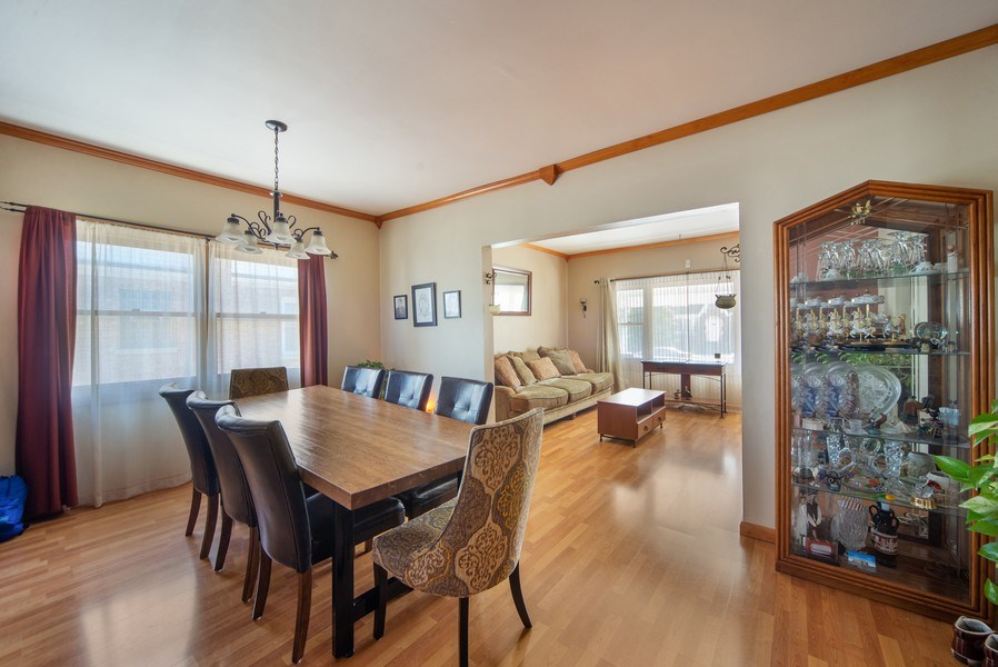 Real Estate Photography - 6952 W Wellington Ave, Chicago, IL, 60634 - Dining Area