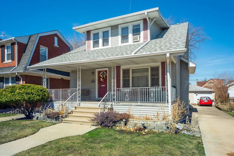 Real Estate Photography - 6952 W Wellington Ave, Chicago, IL, 60634 - Front View