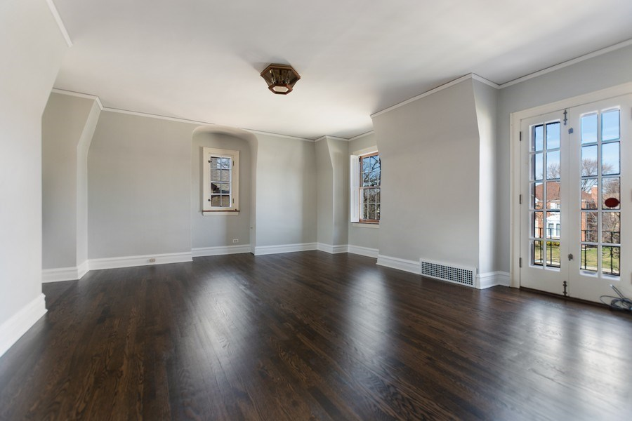 Real Estate Photography - 6033 N Forest Glen, Chicago, IL, 60646 - Master Bedroom