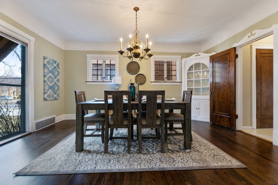 Real Estate Photography - 6033 N Forest Glen, Chicago, IL, 60646 - Dining Room