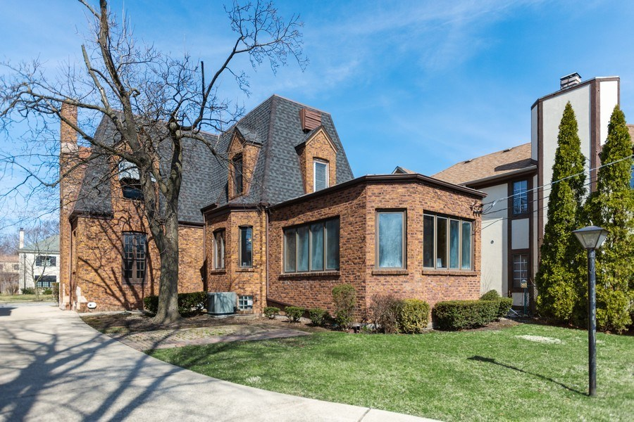 Real Estate Photography - 6033 N Forest Glen, Chicago, IL, 60646 - Rear View