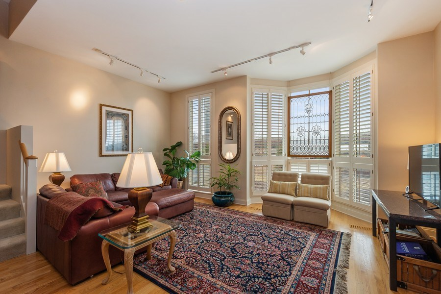 Real Estate Photography - 456 E North Water St, Chicago, IL, 60611 - Living Room
