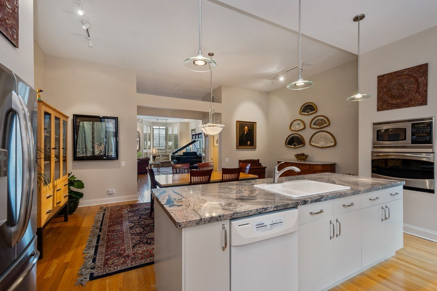 Real Estate Photography - 456 E North Water St, Chicago, IL, 60611 - Kitchen