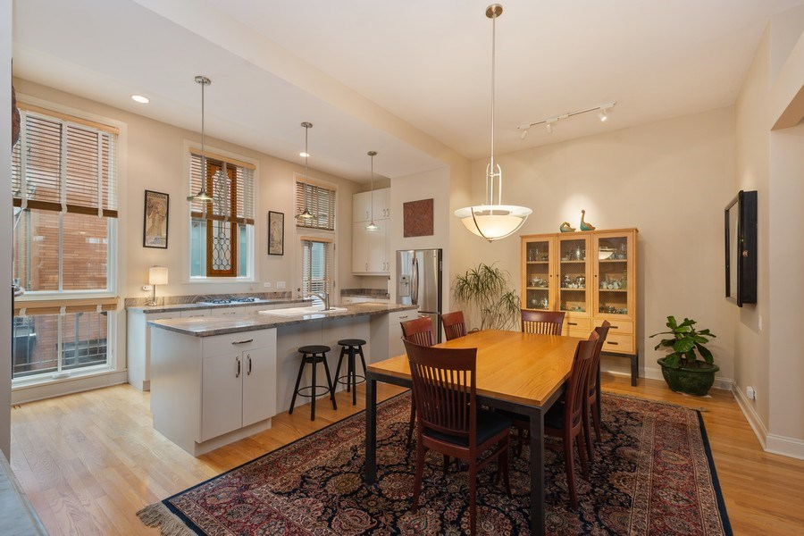 Real Estate Photography - 456 E North Water St, Chicago, IL, 60611 - Dining Room