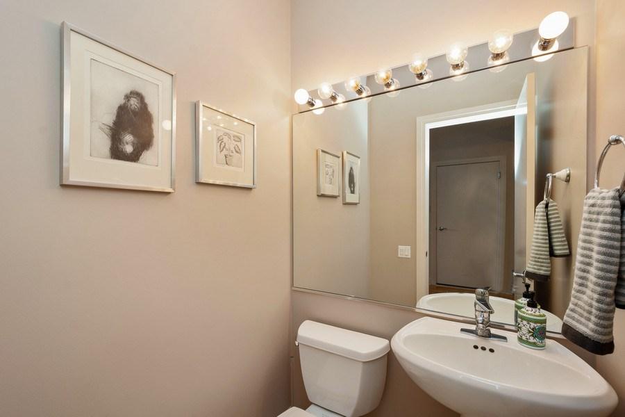 Real Estate Photography - 456 E North Water St, Chicago, IL, 60611 - Half Bath