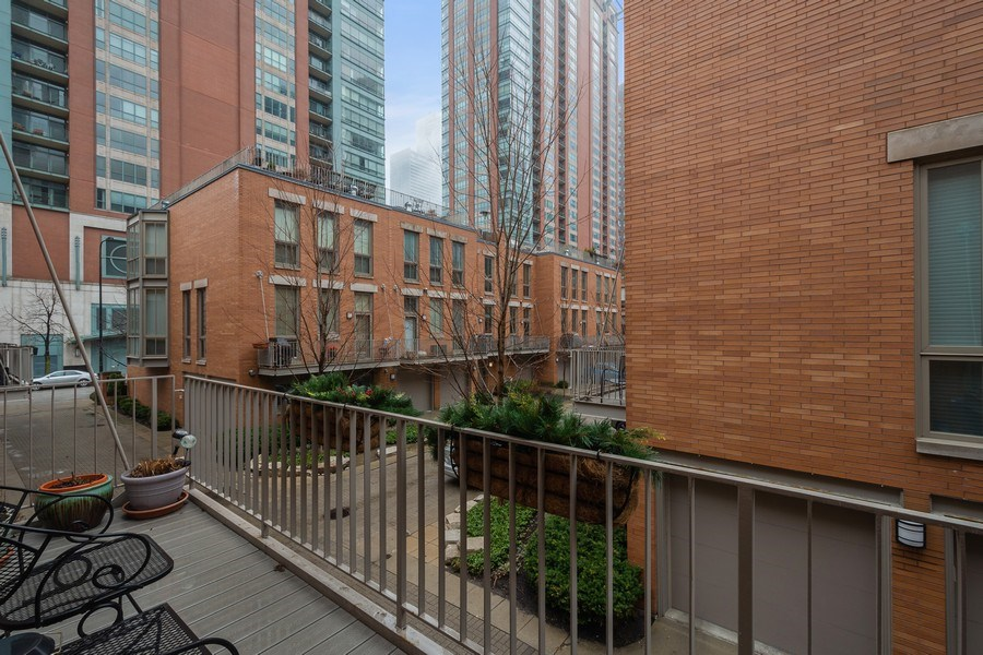 Real Estate Photography - 456 E North Water St, Chicago, IL, 60611 - Balcony