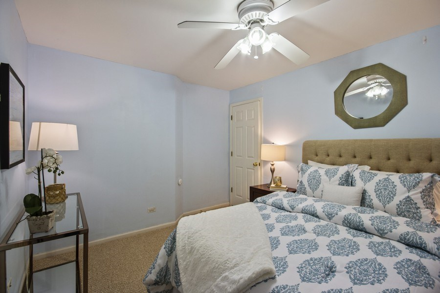 Real Estate Photography - 2851 Southport Ave., A, Chicago, IL, 60657 - Bedroom