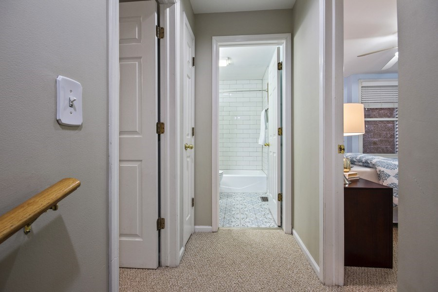 Real Estate Photography - 2851 Southport Ave., A, Chicago, IL, 60657 - Hallway