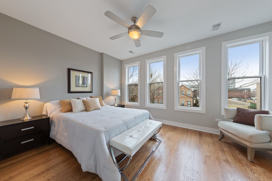 Real Estate Photography - 3521 S Prairie avenue, Chicago, IL, 60653 - 2nd Bedroom