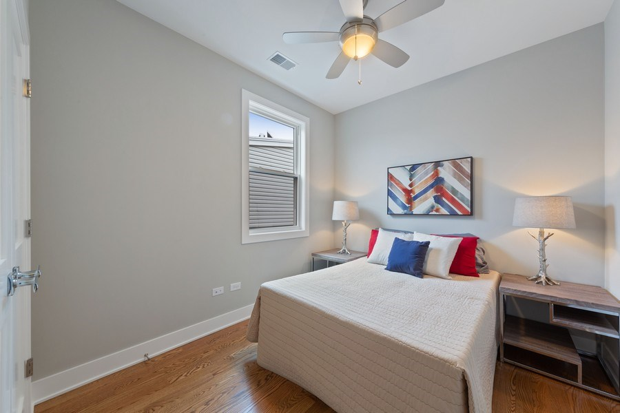 Real Estate Photography - 3521 S Prairie avenue, Chicago, IL, 60653 - 3rd Bedroom