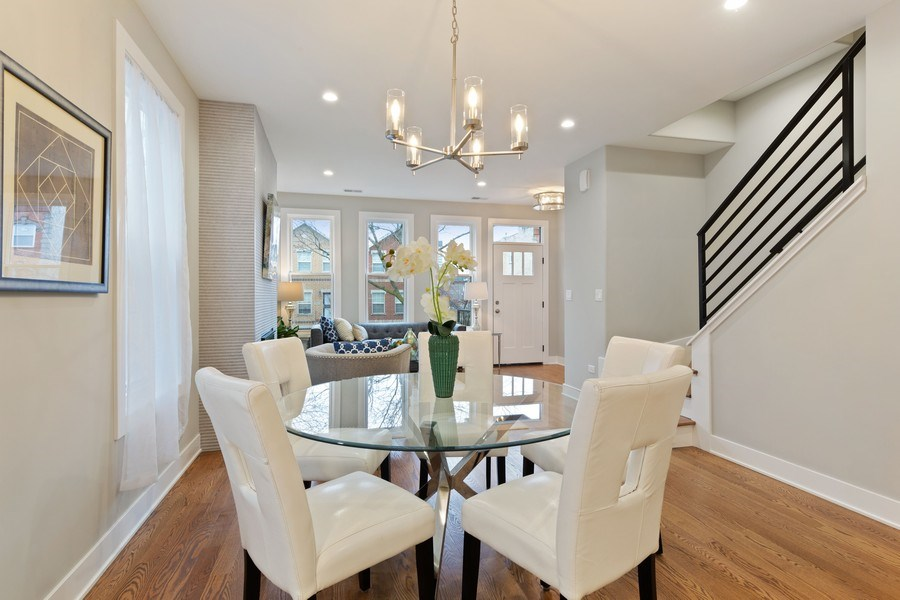 Real Estate Photography - 3521 S Prairie avenue, Chicago, IL, 60653 - Dining Room