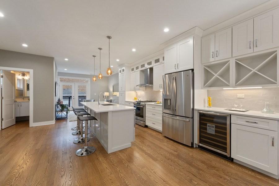 Real Estate Photography - 3521 S Prairie avenue, Chicago, IL, 60653 - Kitchen