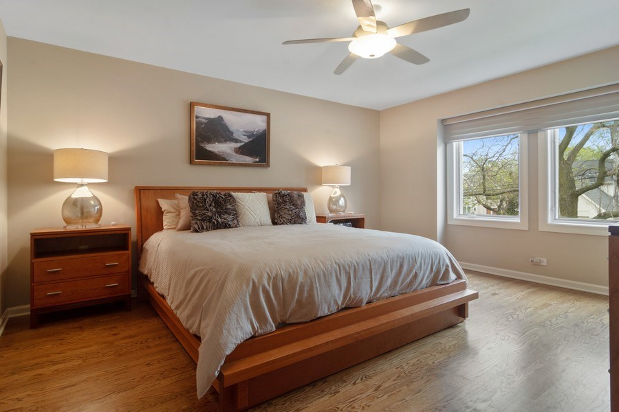 Real Estate Photography - 222 Fairview Ave, Deerfield, IL, 60015 - 2nd Bedroom