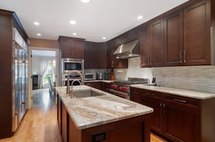Real Estate Photography - 222 Fairview Ave, Deerfield, IL, 60015 - Kitchen