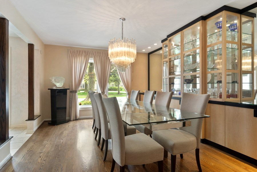 Real Estate Photography - 222 Fairview Ave, Deerfield, IL, 60015 - Dining Room