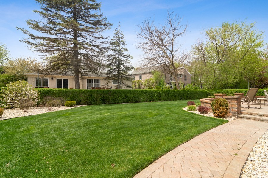 Real Estate Photography - 222 Fairview Ave, Deerfield, IL, 60015 - Back Yard