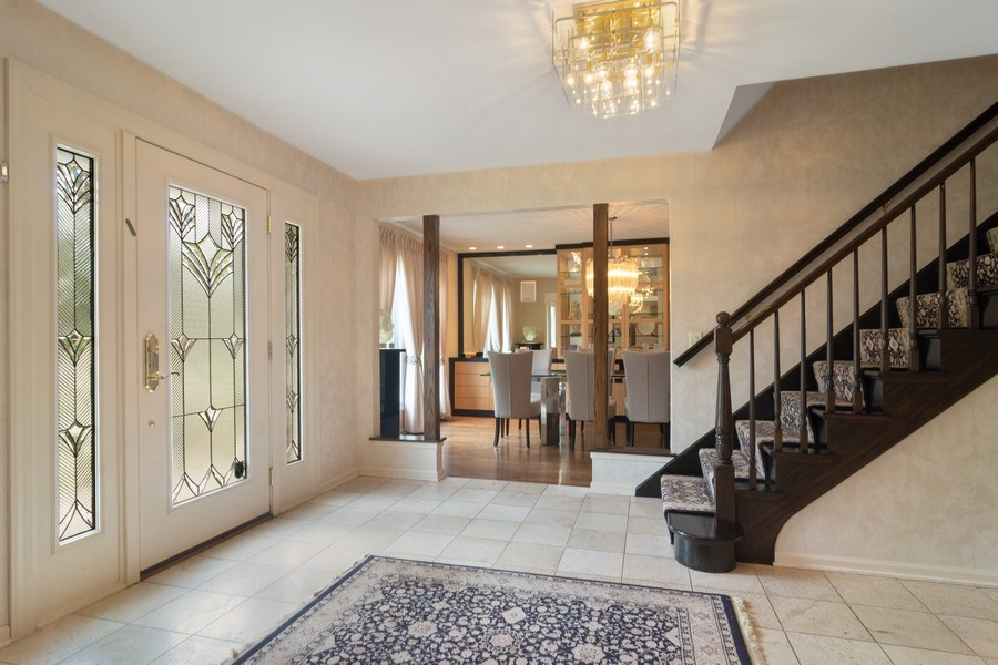 Real Estate Photography - 222 Fairview Ave, Deerfield, IL, 60015 - Foyer
