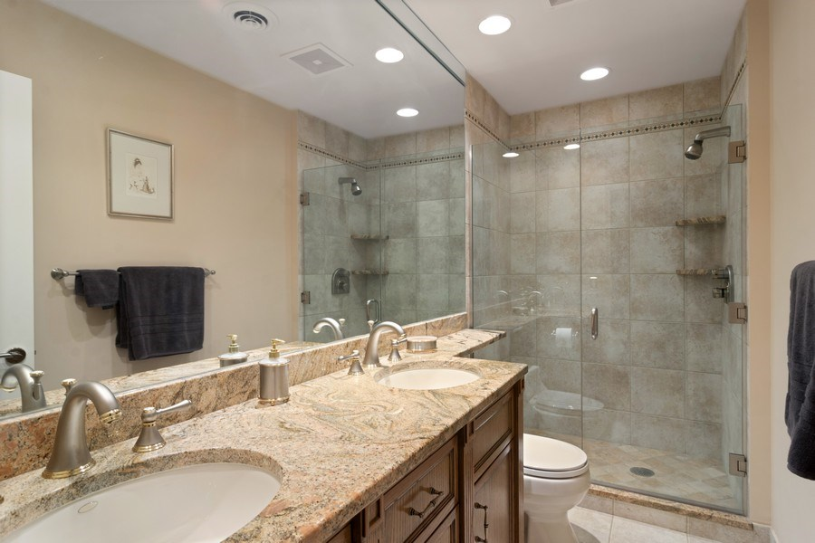 Real Estate Photography - 222 Fairview Ave, Deerfield, IL, 60015 - Bathroom