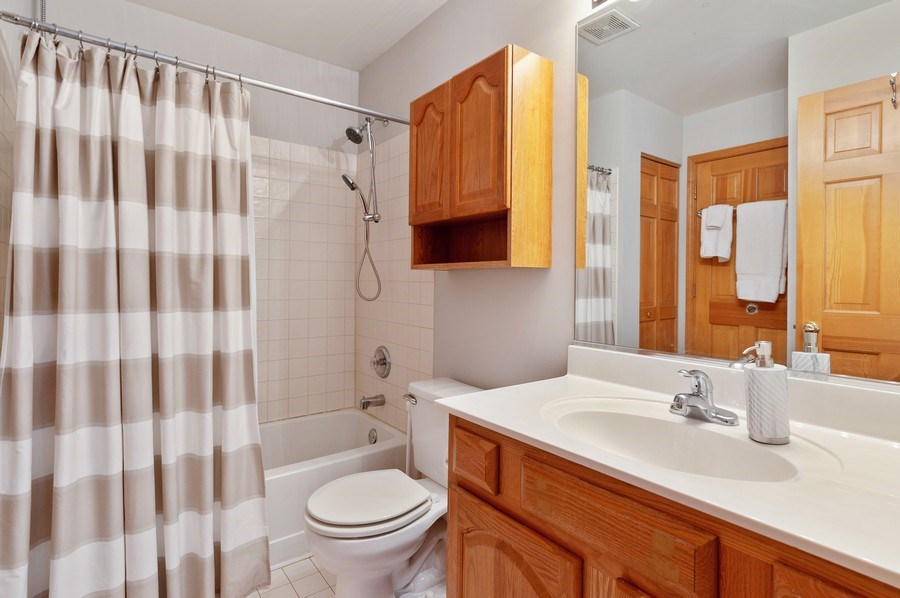 Real Estate Photography - 7271 Presidential Dr., Gurnee, IL, 60031 - Bathroom