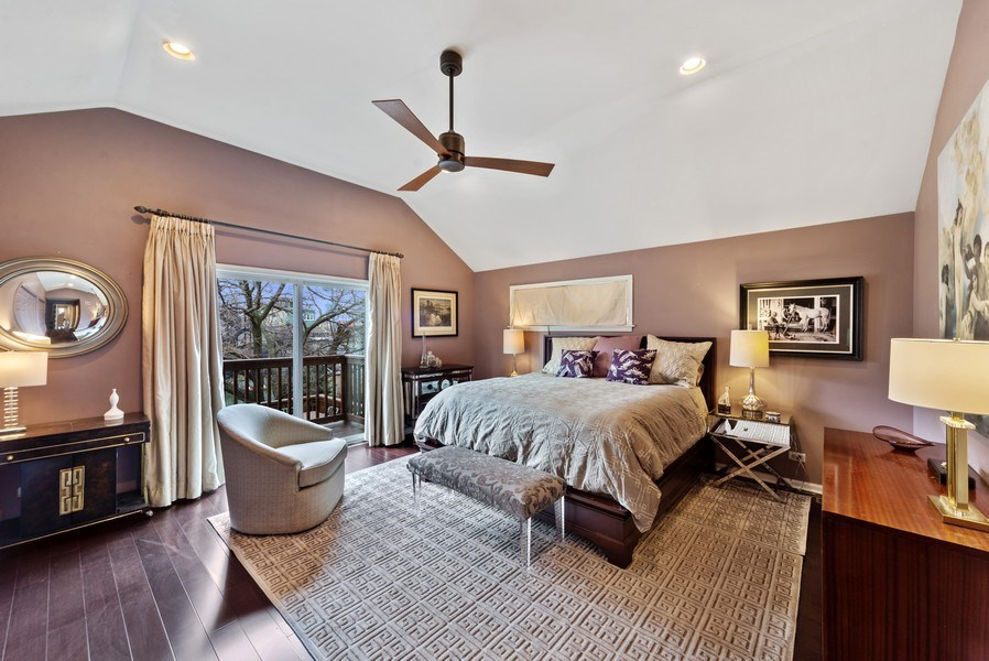 Real Estate Photography - 2339 W. Ohio ST., Chicago, IL, 60612 - Master Bedroom