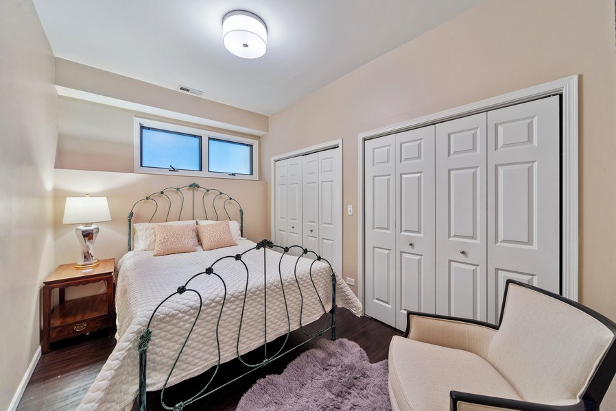 Real Estate Photography - 2339 W. Ohio ST., Chicago, IL, 60612 - 4th Bedroom in Lower Level