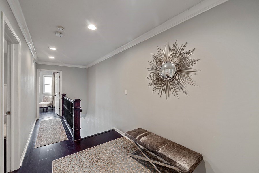 Real Estate Photography - 2339 W. Ohio ST., Chicago, IL, 60612 - Hallway leading to 2nd and 3rd Bedrooms