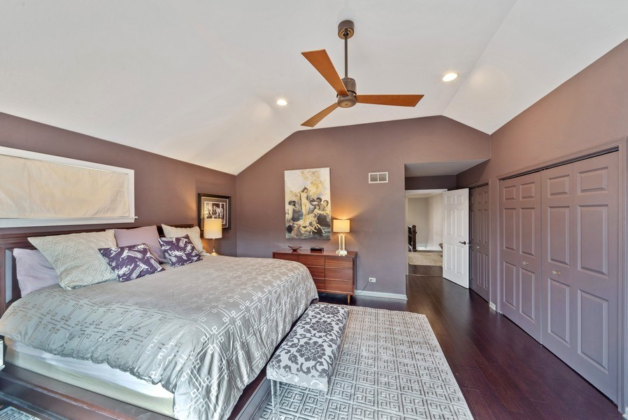 Real Estate Photography - 2339 W. Ohio ST., Chicago, IL, 60612 - Master Bedroom with closets