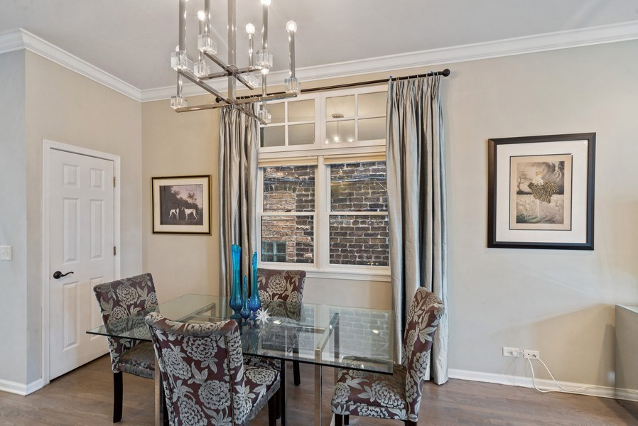 Real Estate Photography - 2339 W. Ohio ST., Chicago, IL, 60612 - Dining Room