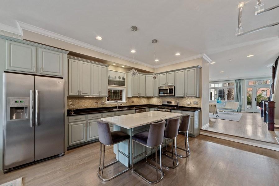 Real Estate Photography - 2339 W. Ohio ST., Chicago, IL, 60612 - Kitchen