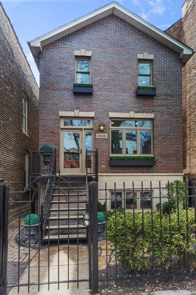 Real Estate Photography - 2339 W. Ohio ST., Chicago, IL, 60612 - Front View