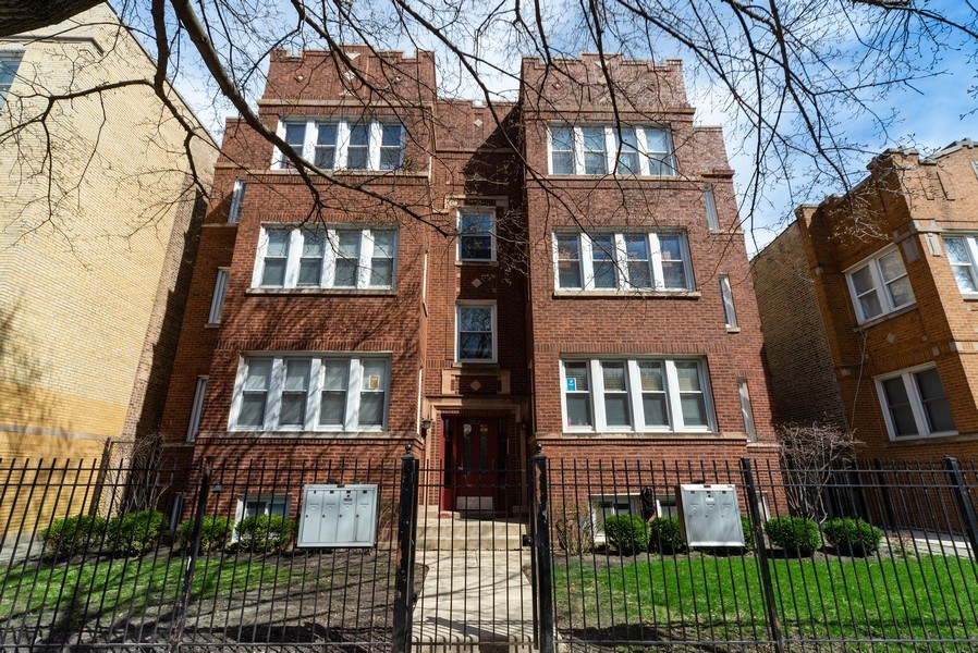 Real Estate Photography - 4639 N. Central Park, 2N, Chicago, IL, 60625 - Front View