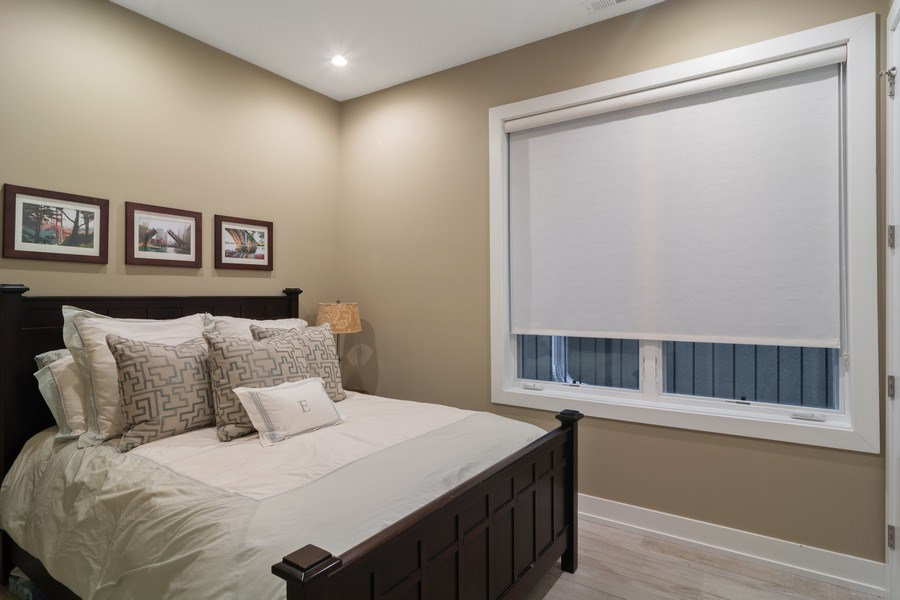 Real Estate Photography - 1613 N Honore, Chicago, IL, 60622 - 4th Bedroom